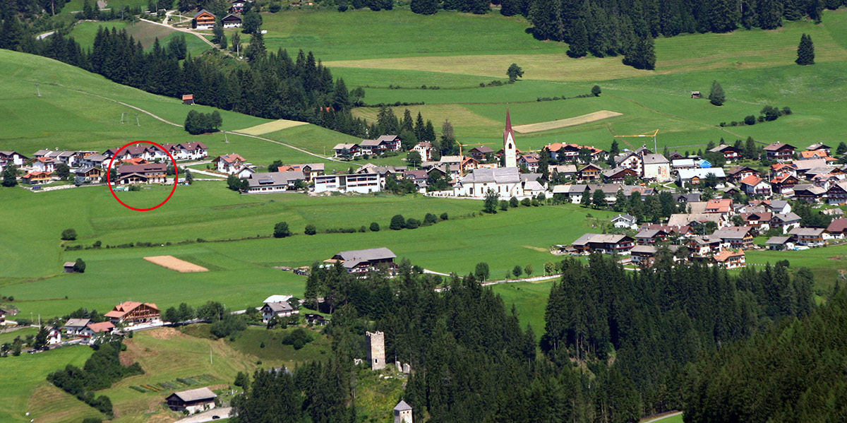 Farm Ronacherhof in South Tyrol